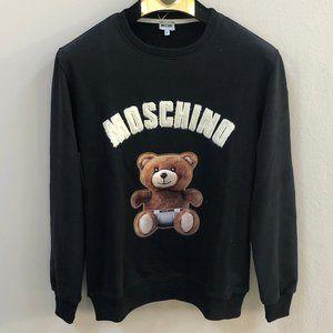 Moschino Bear Pattern New Season Sweatshirt